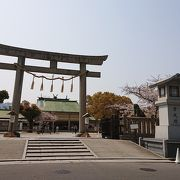 縁切り神社で有名な生玉神社