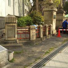 親柱と欄干