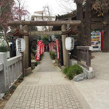 花園稲荷神社(表参道)