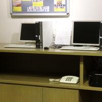 パソコンの設備も完備されてます。