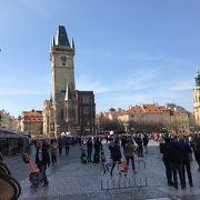 プラハの観光の中心
