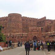 アクバル大帝のつくった城