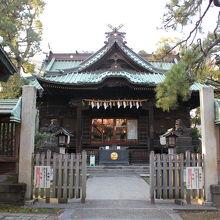 荏原神社拝殿