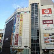 五反田駅前の商業施設