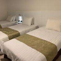 ベッド3つのお部屋は3人旅に嬉しい