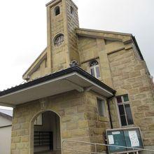生月島にある「山田カトリック教会」です