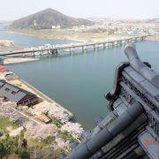 犬山城天守閣からの眺めが美しい