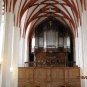 バッハのお墓のある教会