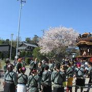 春の山車祭り