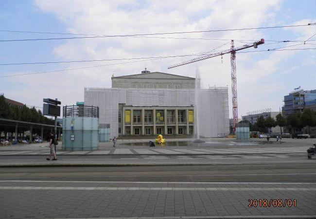 音楽の街のオペラハウス