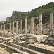 エフェス遺跡の市場跡