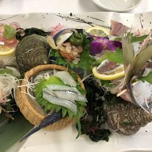 伊予の肉も美味しいけど、やはり海のものも美味しい!
