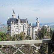橋からお城の写真きれいに撮れる