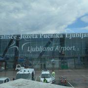 私が見た中では一番小さい空港だ