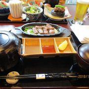 ホテルの和食レストラン