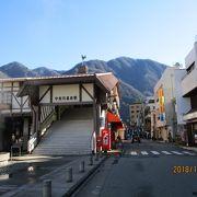富山地鉄の終着駅