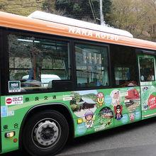 観桜期臨時バス (吉野駅~中千本)