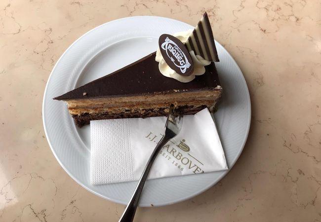 ケーキの種類が豊富です
