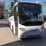 フィンエアーのバス