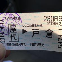 屋代駅から二つ目【戸倉駅】