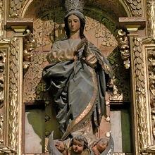 戴冠のマリア