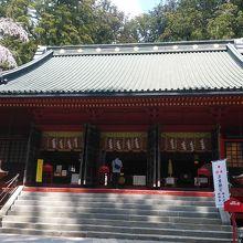 日光二荒山神社 拝殿