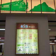 新山口駅の地下