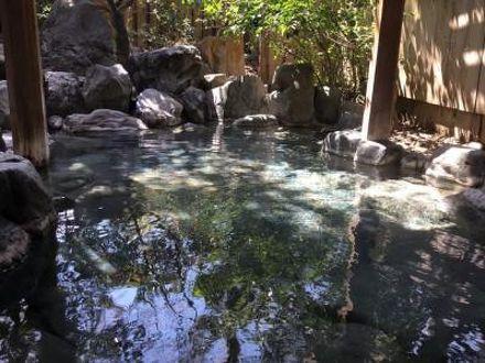 三朝温泉自家源泉かけ流し露天風呂 清流荘 写真