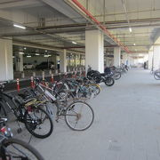 自転車置き場について