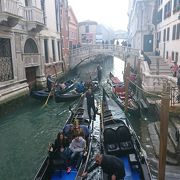 ベネチアの移動手段のひとつ
