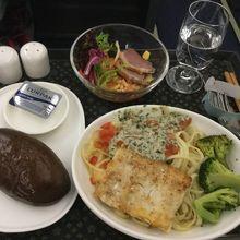 台北→バンコクの機内食