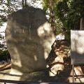 写真:蜀山人の碑