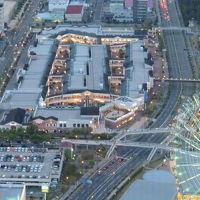 アウトレットのショッピングセンターです