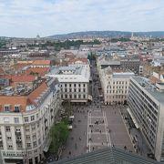 聖イシュトヴァーン大聖堂の前の広場
