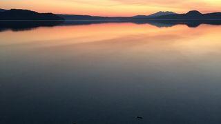 謎の生物クッシーの棲む湖として話題になった屈斜路湖