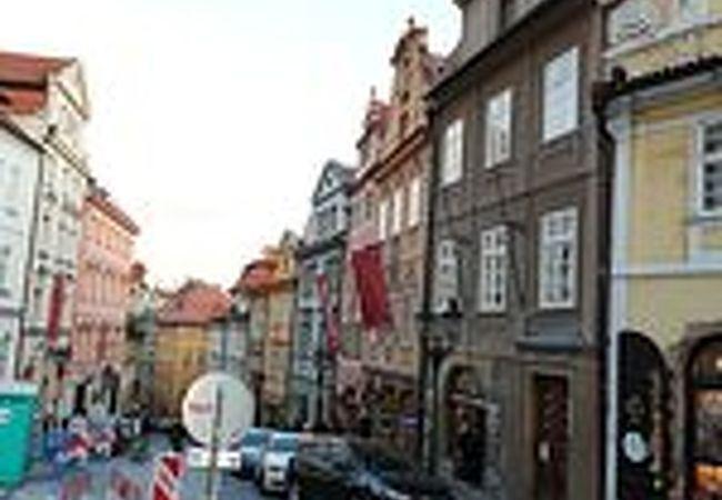 王の道のプラハ城側