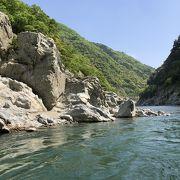 大歩危峡の気持ち良い遊覧船と、スルーしても良い小歩危峡