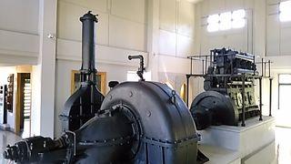 江尻排水ポンプ展示館