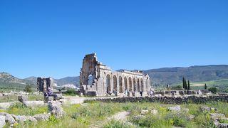 モロッコに現存する最大のローマ遺跡
