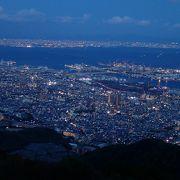 「日本三大夜景」 函館、長崎と比べ、幅がとても広く、奥行きも感じられます