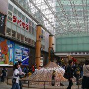奈良市内の観光に便利な駅。