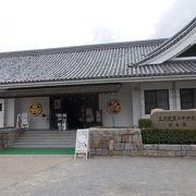 岡崎公園内にあります。