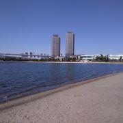 気持ちの良い砂浜