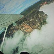 セスナから眺める絶景AUYAN-TEPUIに身震い
