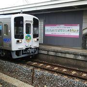 2018年12月現在、御免14時02分発普通列車土佐山田行きは土佐くろしお鉄道の車両が使用されていました