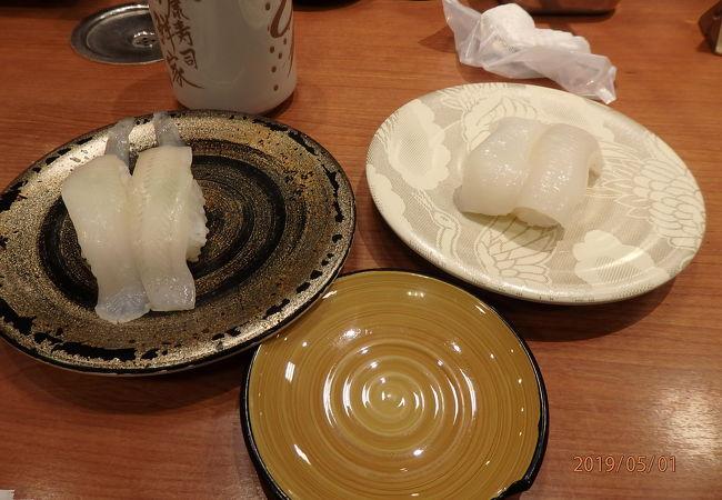 新潟駅ビルにある美味しい回転寿司