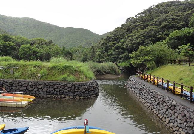 カヌー体験も出来る施設
