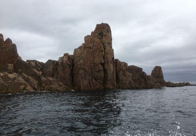日本の渚100選に選ばれた絶景!海上アルプスをクルージング