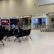 テロ後の空港の様子