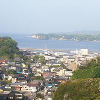 勝浦漁港 その先には海中公園が見えます!